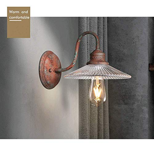 ChuanHan Ceiling Fan Light Chandelier Lightings Wall Lamp Wall Style Turbine Industrial Lamp Restaurant Room Bedside Lamp Creative Personality Retro Wanders Lamp
