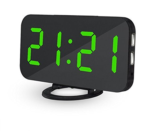Ultra Thin Modern Snooze and Time Setting LED Digital for sale  Delivered anywhere in USA