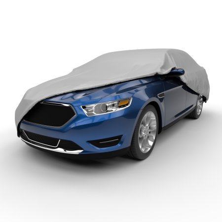 Budge Lite Car Cover, Basic Vehicle Protection, Semi-Custom Fit cars up to 22' Long