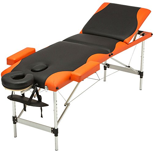 3 Fold Portable Massage Table Aluminum Facial SPA Bed Tattoo with Carry Case from Unknown