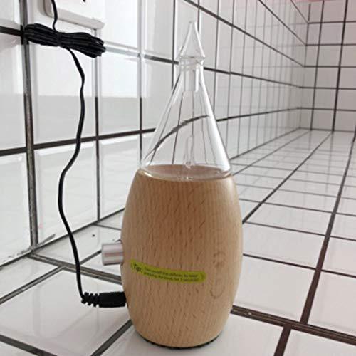 Hogar Dormitorio aromaterapia Estufa Oficina Plug-in Aroma humidificador 10 ml Creativo Aceite Esencial difusor ultrasonido Niebla aromaterapia Horno Mini ...