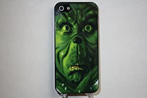 (513bi4) The Grinch Apple iPhone 4 / 4S Black Case