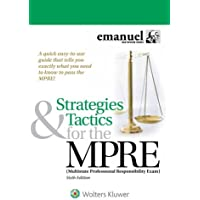 Strategies & Tactics for the MPRE: (Multistate Professional Responsibility Exam) (Bar Review)