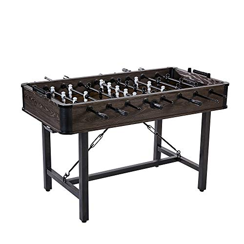 Lancaster 56 Inch Traditional Indoor Game Room Multiplayer Foosball Table from Lancaster Gaming Company