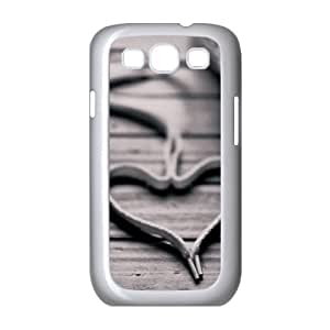 {Love Series} Samsung Galaxy S3 Case Lace Love, Case Dustin - White
