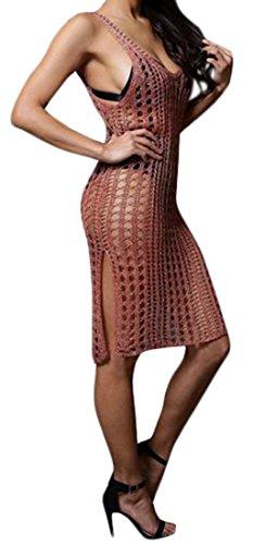 cheetah girl see through dress - 4