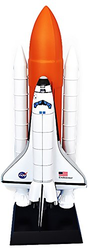 (Mastercraft Collection Space Shuttle Full Stack NASA Endeavour (L) Model Scale: 1/100)
