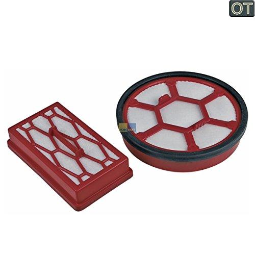 Dirt Devil Filterset Dual Motorschutzfilter Ausblasfilter 2200001 für Rebel 20