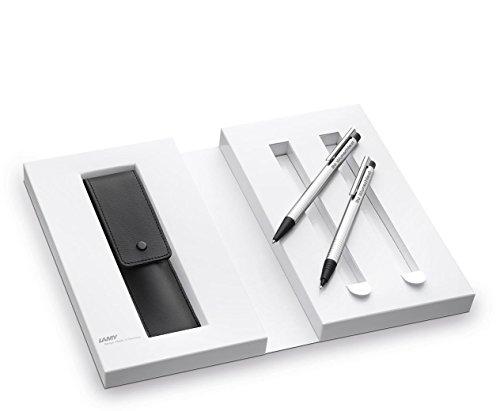 LAMY Geschenk-Set logo matt Kugelschreiber + Bleistift 105/205 inkl. Laser-Gravur