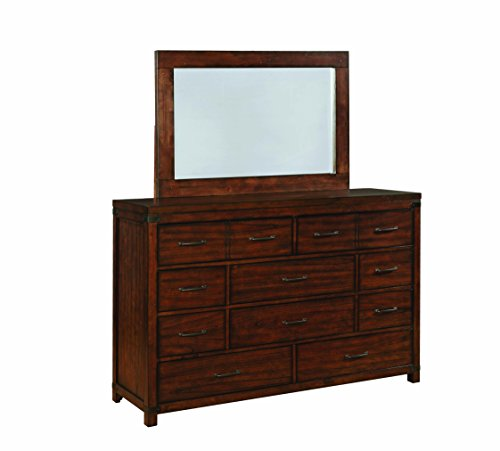 10 Drawer Dresser - Artesia 10-Drawer Dresser Dark Cocoa