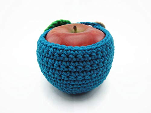 Apple Fruit Picture Blue