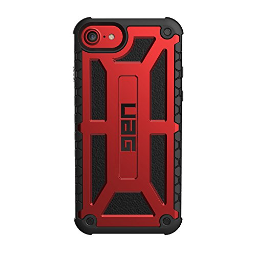 ffc06e4724 UAG iPhone 8 / iPhone 7 / iPhone 6s [4.7-inch Screen] Monarch Feather-Light  Rugged [Crimson] Military Drop Tested iPhone Case