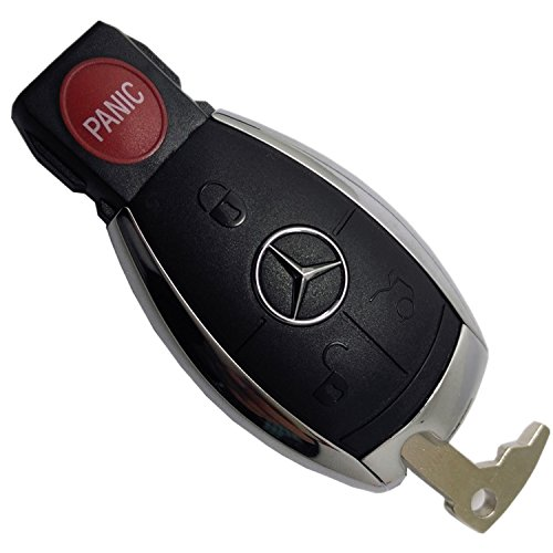 (Replacement Keyless Remote Fob Key Shell Case For Mercedes Benz W203 W210 W211 AMG W204 C E S CLS CLK CLA SLK Classe No Chip IYZ3312)