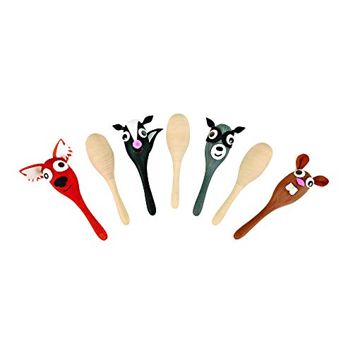 Colorations Maracas Decorate Your Own Wooden Maracas (Pack of 12)