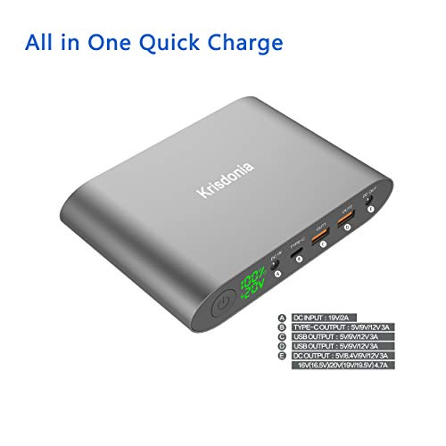 Buy laptop external battery charger hp