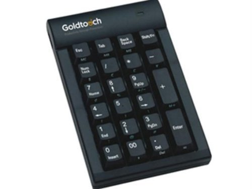 Goldtouch Usb Keypad (Black) ''Product Category: Digital Cameras/Keyboards/Input Devices/Keyboards''