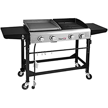 amazoncom royal gourmet portable propane gas grill and