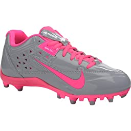 Nike Women\'s Speedlax 4 Lacross Cleats, Stealth/Pink Flash (6, Stealth/Pink Flash)