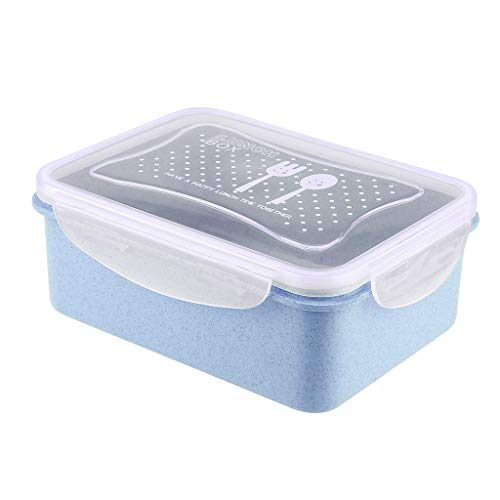 Ktyssp Lunch Box Durable Leak-Proof On-The-Go Meal and Snack Packing Fruit Storage - Mirrors List Bathroom Price