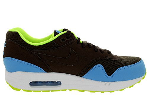 Nike Mens Air Max 1 Scarpa Da Corsa Essenziale Brq Marrone / Università Bl / Vlt / Bianca