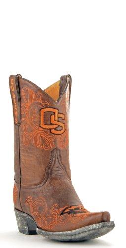 NCAA Oregon State Beavers Women's 10-Inch Gameday Boots, Brass, 8 B (M) US (Rain Boots State Oregon)