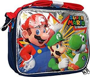 Super Mario Soft Lunch bag]()