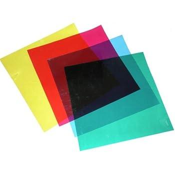 Amazon Com Cowboystudio Color Correction Gels Set Of 4