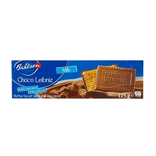 Biscoito Amanteigado com Cobertura de Chocolate ao Leite Bahlsen Caixa 125g