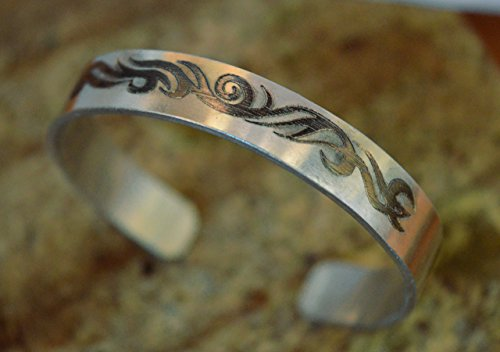 Engraved Wide Cuff (THICK sterling silver bracelet custom engraved,handmade silver cuff bracelet,wide silver bracelet,silver 925 bracelet,unique handstamped)