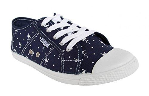 Sneakers Per Donna Kappa 303i180 Keysy 916 Dk Blu