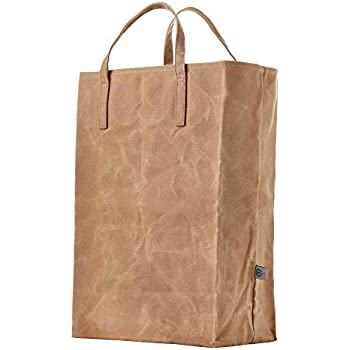 d2a06f5364d0 Amazon.com: Olli Reusable Waxed Cotton Canvas Grocery Tote Bags ...