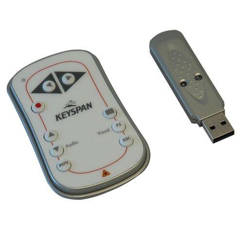 Keyspan by Tripp Lite PR-EZ1 Easy Presenter Presentation Remote Wireless with Laser by Keyspan