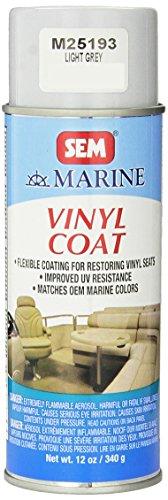 (SEM M25193 Light Grey Marine Vinyl Coat - 12 oz.)