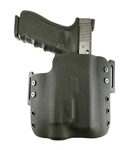 Tru-Fit Tactical OWB Kydex Gun Holster (Black) for Streamlight TLR-1, TLR-1S, TLR-1HL Available for 50+ Gun Models