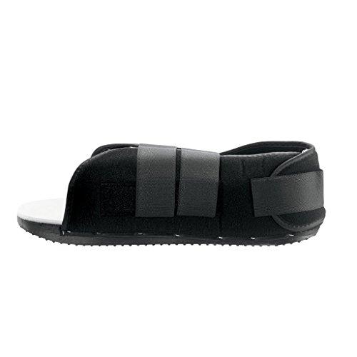 Breg Post Op Shoe Adj Heel Mens L Part #11404 by Breg