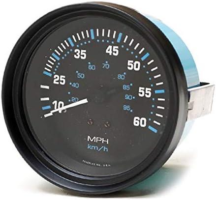 Teleflex Boat Speedometer Gauge 56929PH Vector 3 1//4 Inch Black