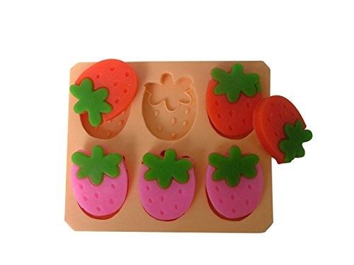 Strawberry Chocolate Candy and Soap Mold