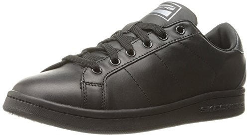 Skecher Street Women's Onix Fashion Sneaker, Black, 7 M US