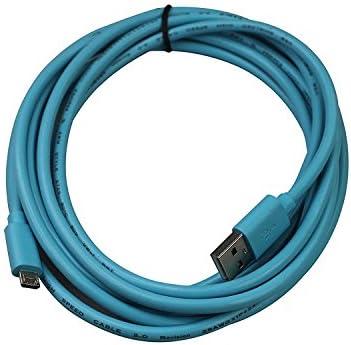 Teckology® Micro USB Cable 10 ft/3 m Extra largo resistente cargador de alta velocidad Pesado Cable sincronización de datos universal para Samsung y 99% Android Smartphone azul: Amazon.es: Informática