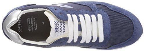 Azul E Geox Para Zapatillas avio J Jensea Niñas nnHrEY