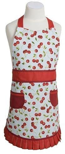 Now Designs Sally Kinderschürze Kid' - Kirschen von Now Designs.