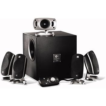 Logitech Z-5300e THX-Certified  280-Watt 5.1 Surround Sound PC and Gaming Speaker System