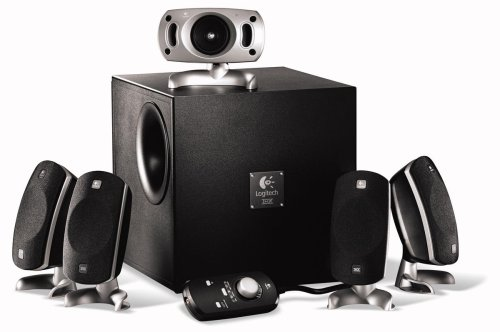 Logitech THX Z-5300e 280 W 5.1 Channel Speakers