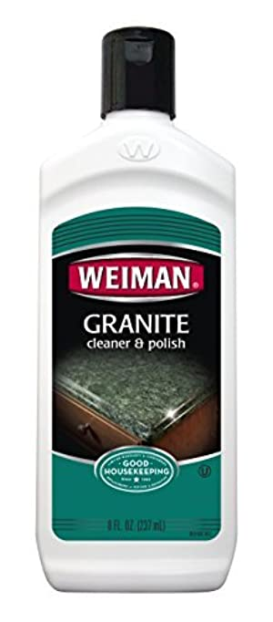 Weiman Marble, Granite & Countertop Polish, 8-Ounce Bottles (Pack of 6) by Weiman