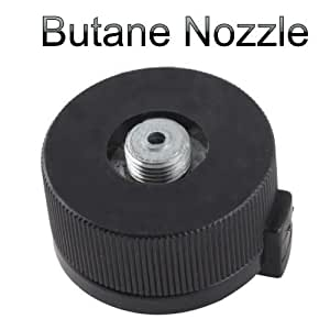 Crazydeal Dual Nozzle Butane Useful stylish Adapter Be Able To Use Screw Type Gas Burner Convert Transfer?