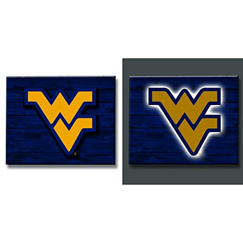 (Team Sports America West Virginia Mountaineer LED Metal Wall Art)
