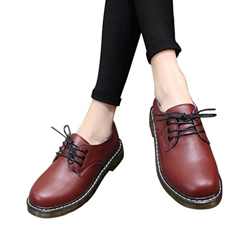 Red Shoes Oxford Lace Women Dear Time Up qpvSSx