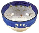 Product review for JapanBargain Japanese Smiling Blue Cat Porcelain Soup Bowl 6 inch