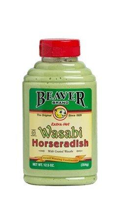 Beaver Extra Hot Wasabi Horseradish 12.5 Oz