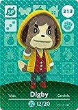 Digby - Nintendo Animal Crossing Happy Home Designer Amiibo Card - 213